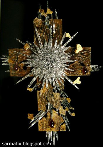 The Light of Christ - jewelry by Salvador Dali, Figueres, Spain.