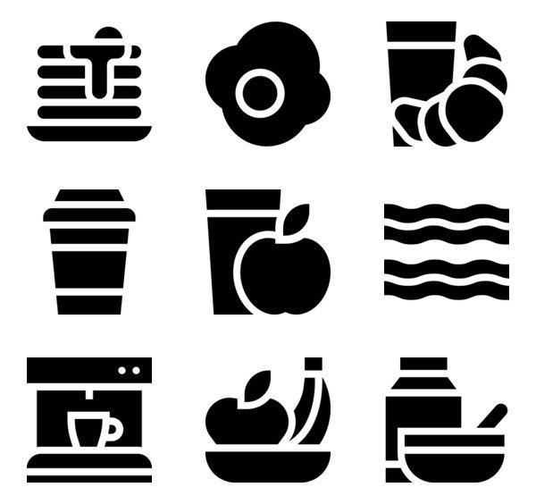 214 Icon Packs Of Breakfast Free Icon Set Icon Design Icon