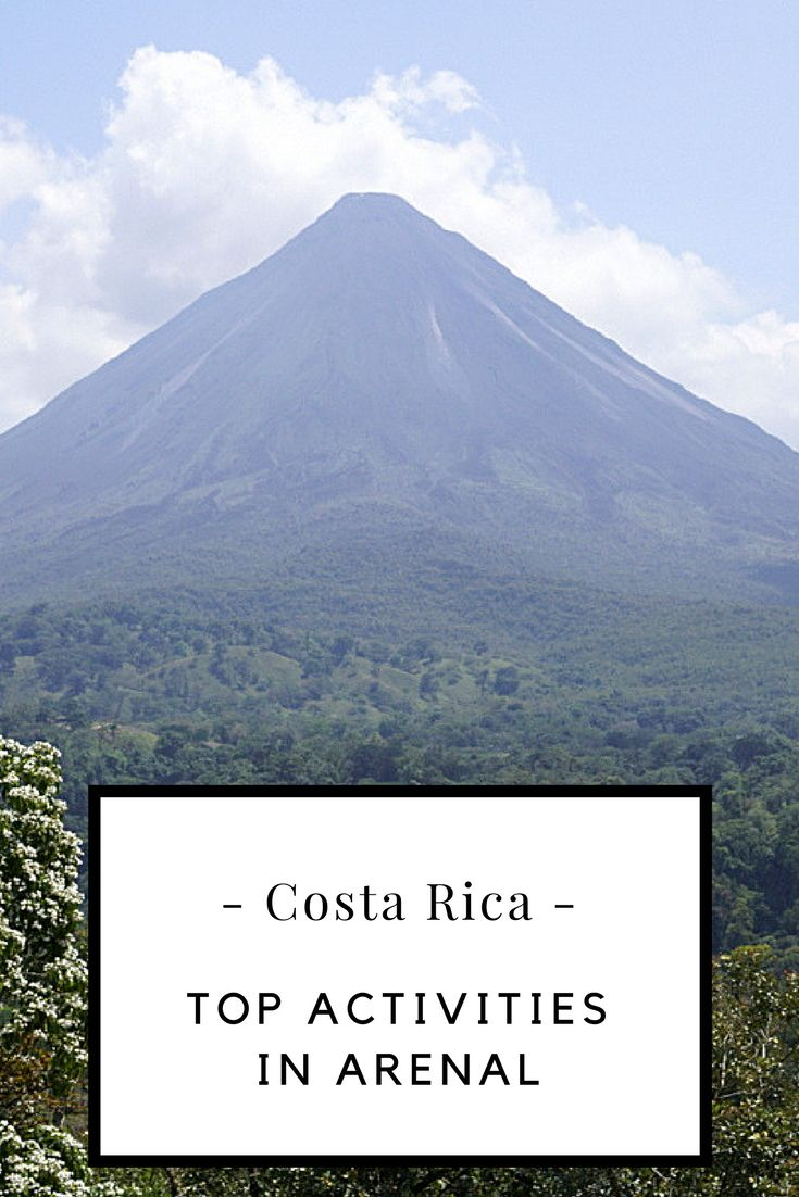 Top family friendly activities in Arenal and La Fortuna (Costa Rica)