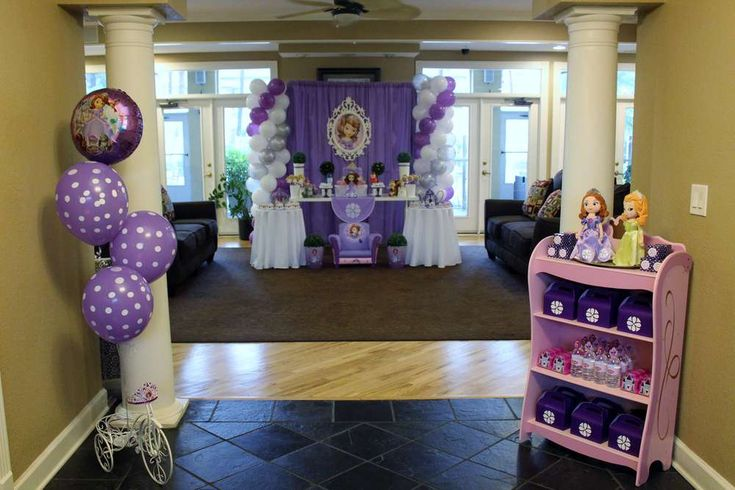 Sofia the First Birthday Party Ideas   Photo 2 of 19   Catch My Party