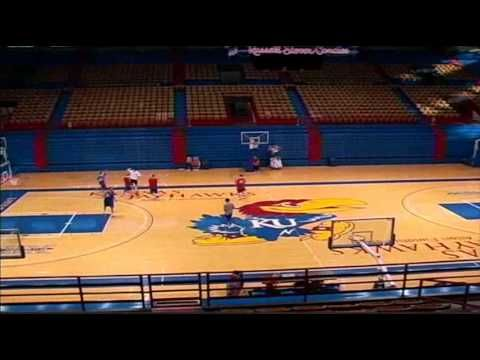 Mid-Court Mayhem with Cole Aldrich & Kansas Basketball