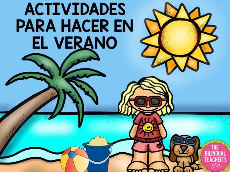 The Summer Activities in Spanish is a great packet that includes reading, math, writing practices for your students. Now available at The Bilingual Teacher Store. $6.00