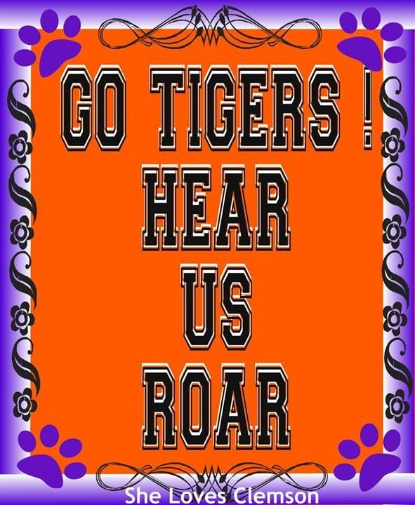 1000 Images About Go Clemson Tigers On Pinterest