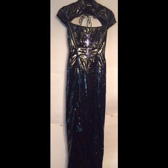 "LIP SERVICE Career Wear ""Nasty Chastity"" long dress #38-239"