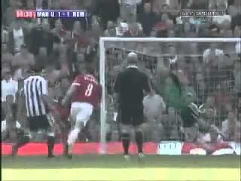 Wayne Rooney Goal v Newcastle - volley