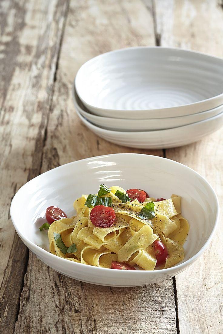 A real pasta connoisseur makes their own pasta #SophieConran #Portmeirion