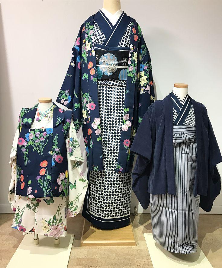 七五三や卒園式のママにもオススメしたい羽織スタイル。 男の子とお揃いの着物、女の子とお揃いの羽織ご用意できます。 ネイビー、アイボリーは柄が変わっても共通色なので、ご家族で統一感♡大人の男性着物もご用意できますので一家揃ってお着物も♡ 七五三は @hataori.jp hataoriさんでレンタル予定です。 子供着物をお仕立てされる方はMarMuにお問い合わせください。プロフィールのHPコンタクトからお願いいたします #marmu #Garden #着物 #七五三 #七五三レンタル #着物コーデ #styling #スタイリング #fashion #ファッション #きもの #趣着物 #design #袴 #袴コーデ #親子リンクコーデ #羽織 #千鳥格子 #ネイビー #雪輪 #雪花紋