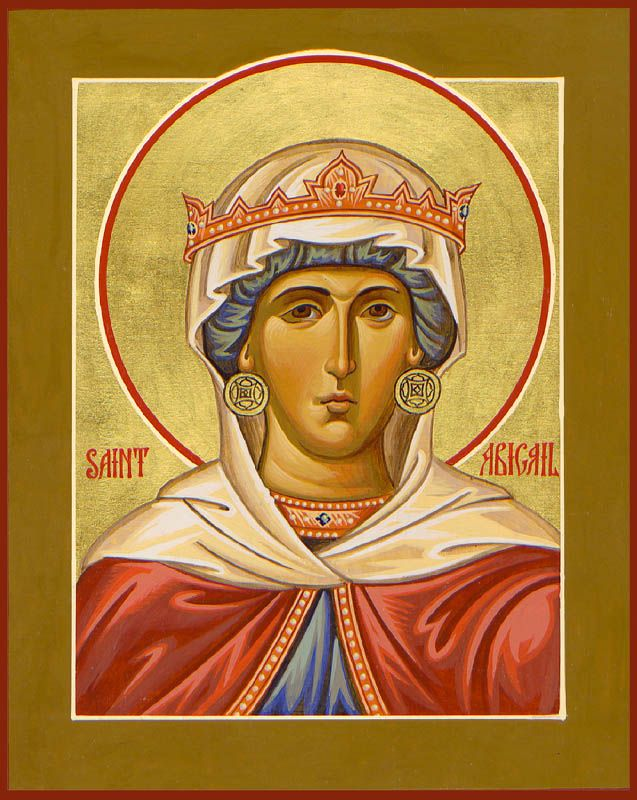 St. Abigail by Paul Drozdowski