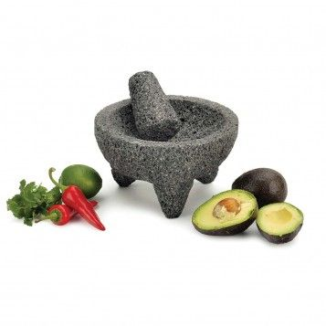 Authentic Mexican Authentic Mexican Molcajete from the #FNStore: Molcajet Sets, Mexicans Authentic, Foodies Ideas, 3Pc Molcajete, Mexicans Food, Molcajete Sets, Sets 35 90, Mexicans Molcajet, Authentic Mexicans