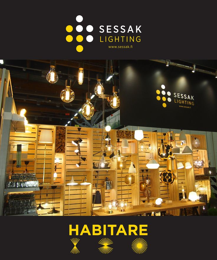 Sessak products on Habitare 2016, Finland's leading event for furniture and interior decoration and design