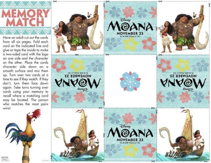 Free Printable Moana Coloring and Activity Sheets Any