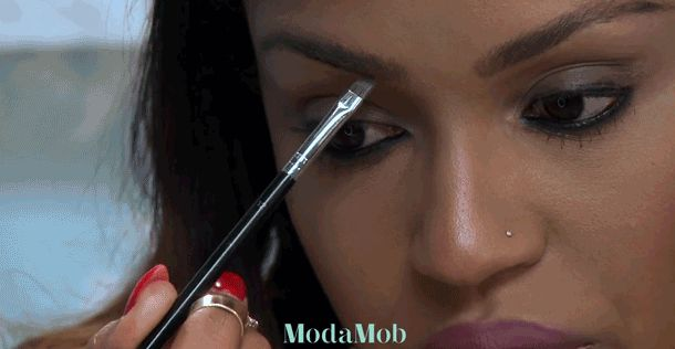 How To Fill, Highlight & Contour Eyebrows from MakeupShayla | ModaMob
