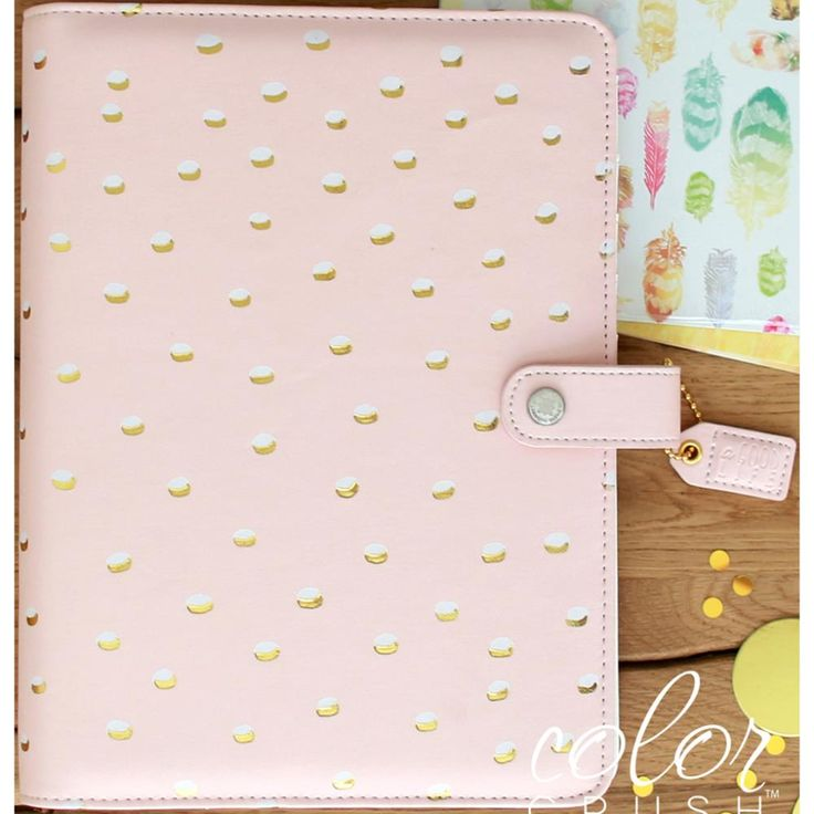 Dotted Color Crush A5 Planner Kit