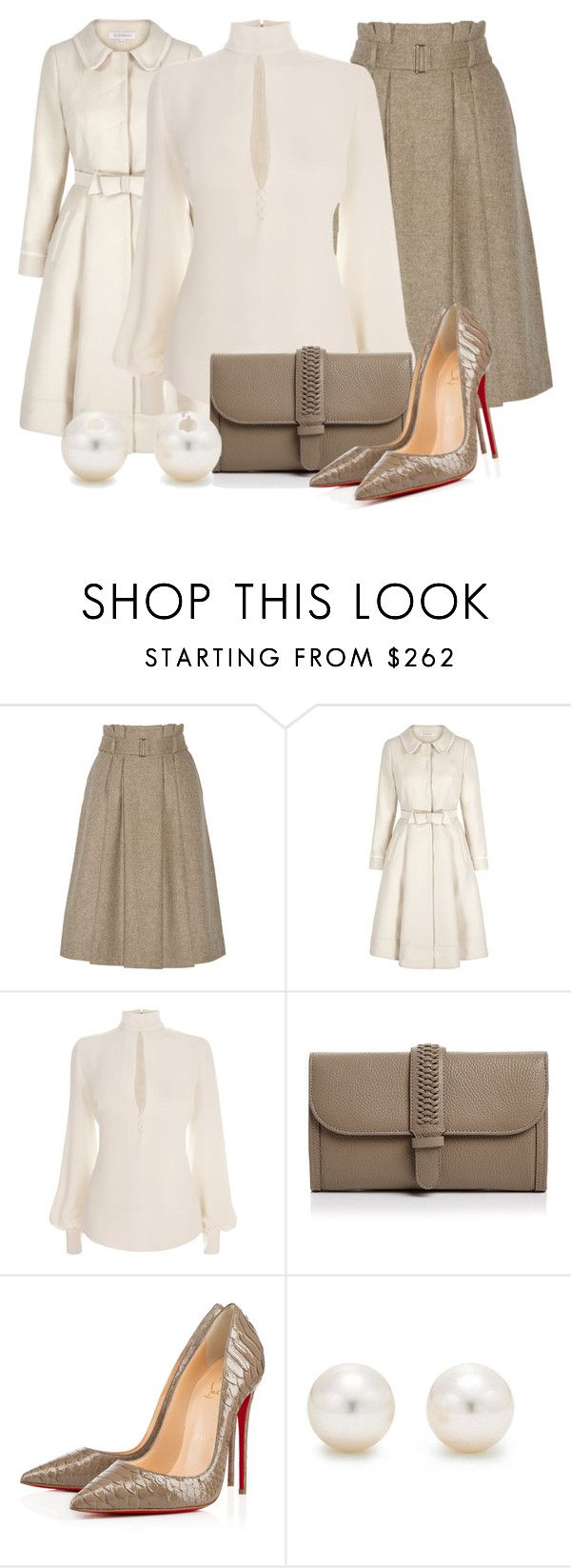 """Untitled #440"" by merida ❤ liked on Polyvore featuring By Malene Birger, Alexander McQueen, GRACE Atelier De Luxe and Tiffany & Co."
