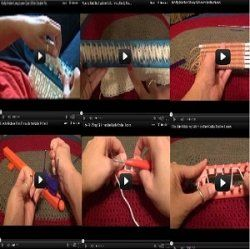 If you prefer to learn how to use the Knifty Knitter looms by watching videos, this page is for you. I've collected all my Knifty Knitter YouTube... THIS IS AWESOME!
