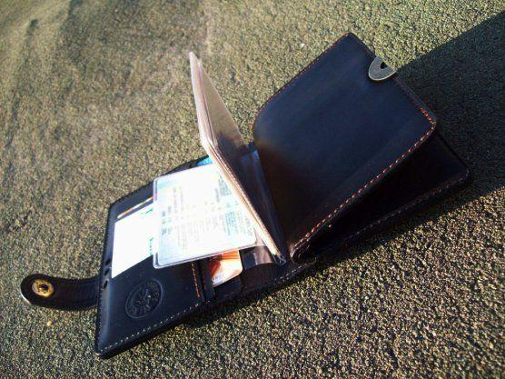 Именное портмоне  handmade