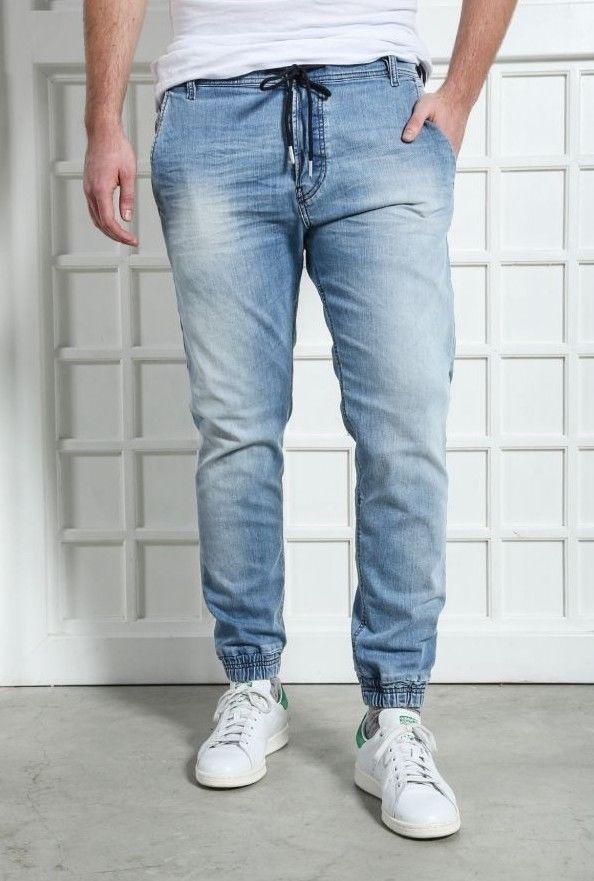 73b883f1 NEW mens DIESEL DUFF 0673E JOG CUFF Stretch Slim Carrot leg JEANS size W27  Short #Diesel #Taperedcarrot