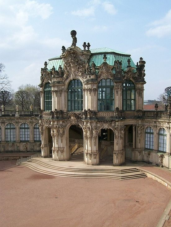 Dresden, Germany Zwinger palace