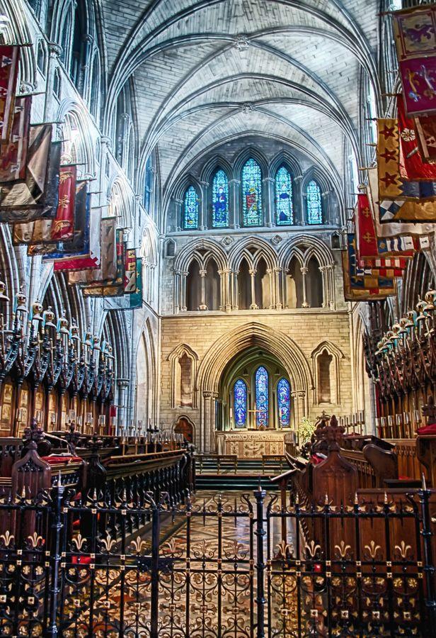 Interior St. Patrick's Cathedral.  Dulbin, IRELAND.
