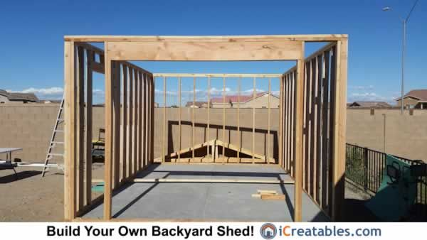 77 best storage shed images on pinterest woodworking for Storage shed overhead door