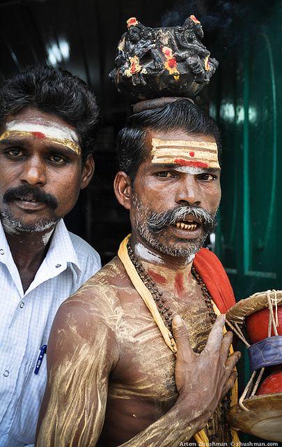 Sadhu and friend