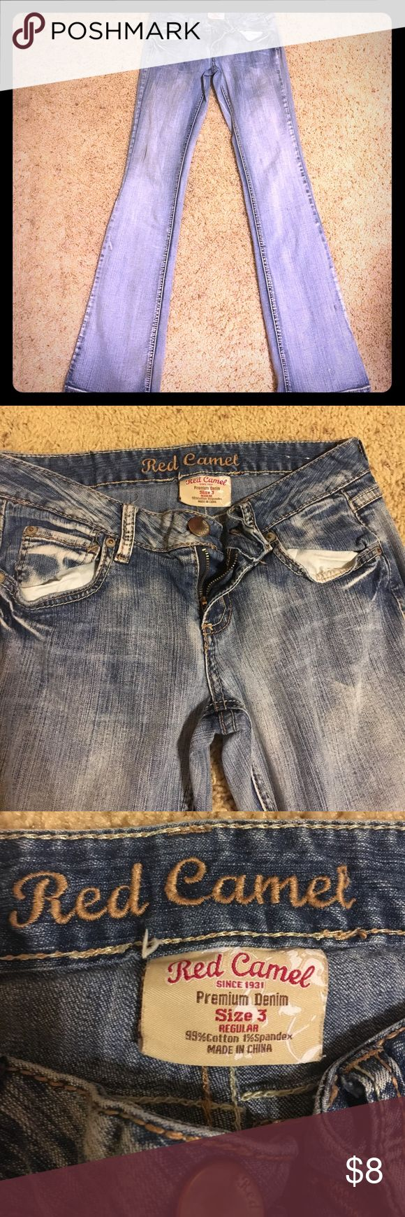 Red camel jeans Preloved jeans. Starting to fray at bottom Red Camel Jeans Boot Cut