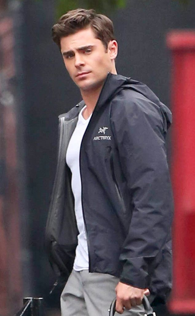 If you need us we will be staring at Zac Efron's jawline!