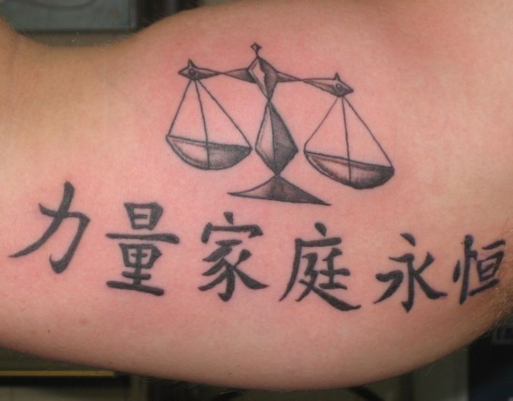 Libra Tattoos – Designs and Ideas