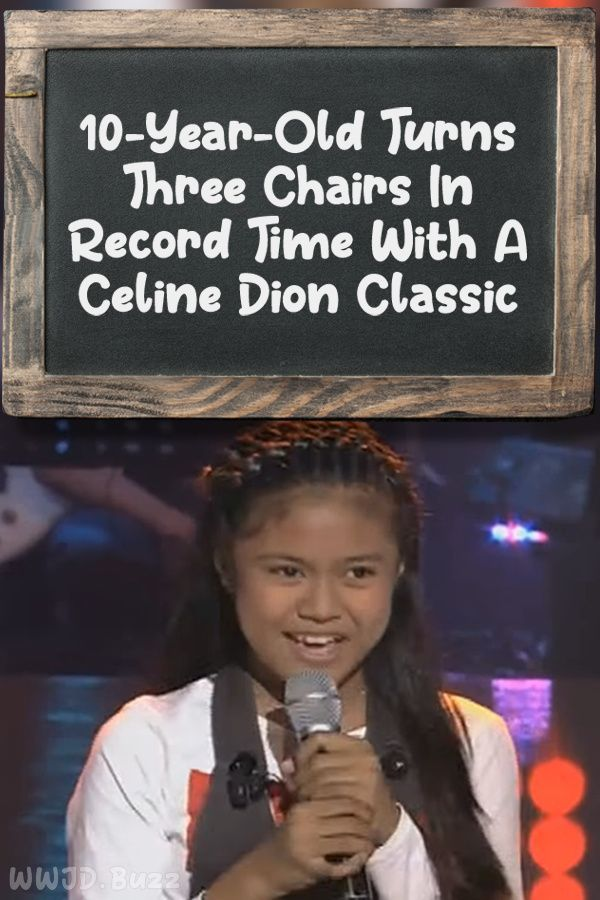 10 Year Old Turns Three Chairs In Record Time With A Celine Dion Classic In 2020 Celine Dion 10 Year Old Olds