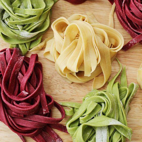 12 Fresh Homemade Pasta Recipes: Beet, spinach, gnocchi - & you do Not need a pasta maker...