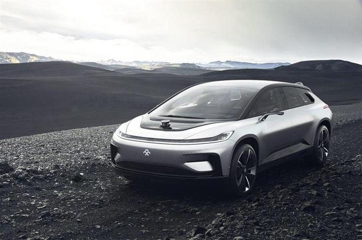 FF 91 : la voiture électrique la plus rapide se dévoile au CES