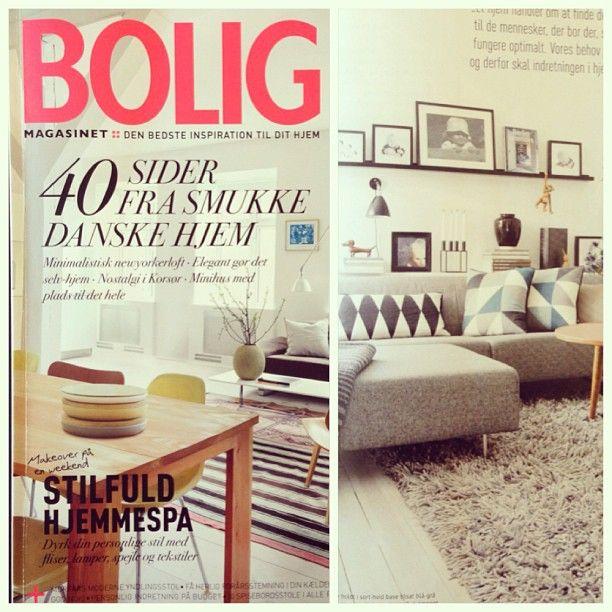 'Boligmagasinet' from Denmark this month #kubus4 #bylassen #boligmagasinet #marts2013
