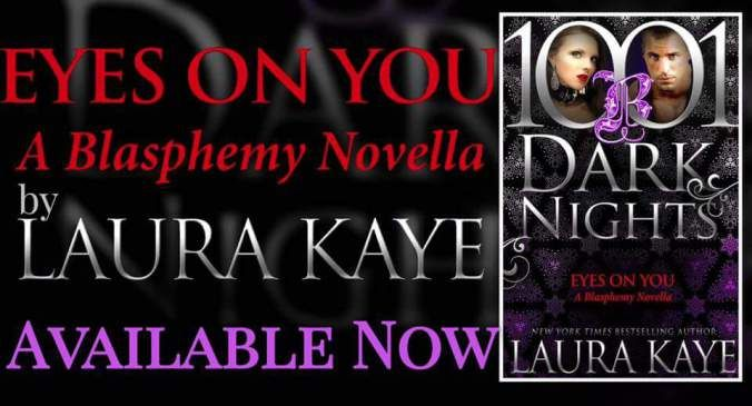 EYES ON YOU by Laura Kaye is LIVE now!!!  Links: Amazon: http://amzn.to/2eiZ7Oa (elsewhere on 10/18/17)  Get a free Kindle Reading App: http://amzn.to/2uas37E  Check out the whole Blasphemy Series: http://ift.tt/2uAViQM (Book 1: Bound to Submit  is FREE!) About the book:  She wants to explore her true desires and he wants to watch When a sexy stranger asks Wolf Henrikson to rescue her from a bad date he never expected to want the woman for himself. But their playful conversation turns into…