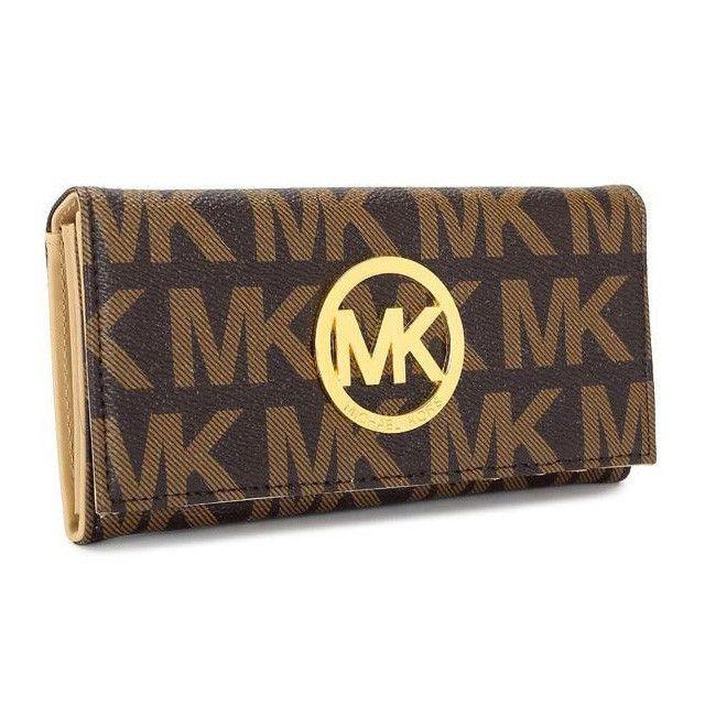 Michael Kors Flat Continental Large Wallet