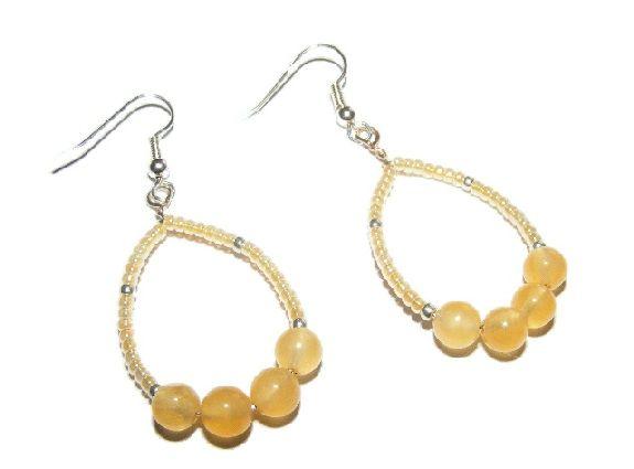 Aragonite Earrings £5.99