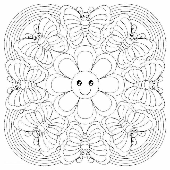 1001  ideen und bilder zum thema mandala blumen  mandala