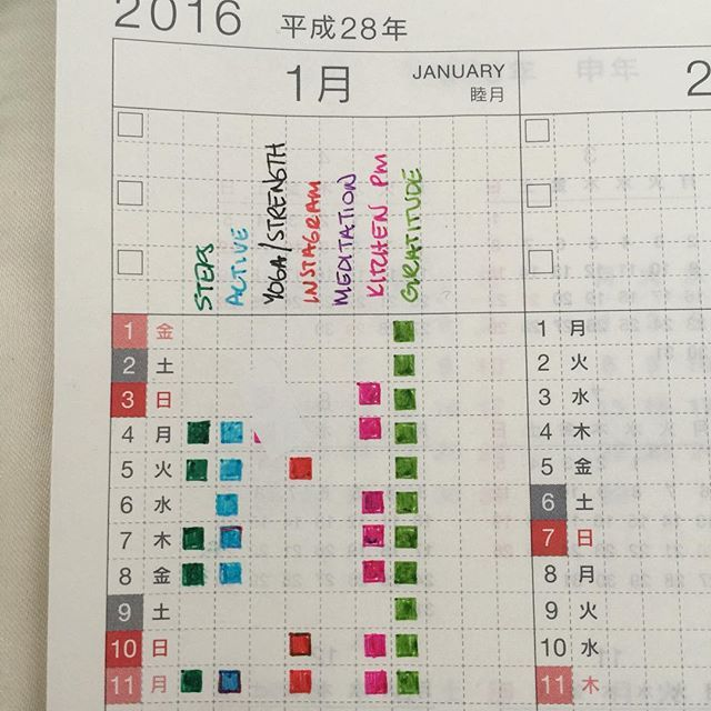 I am very grateful, but inflexible and weak second year in a #Hobonichi Cousin…