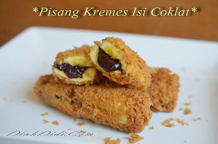 Resep Cake Pisang Diah Didi: 29 Best Snack - Banana Images On Pinterest