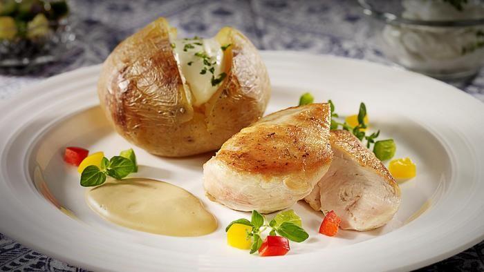 Kyllingfileter i smakfull fløtesaus