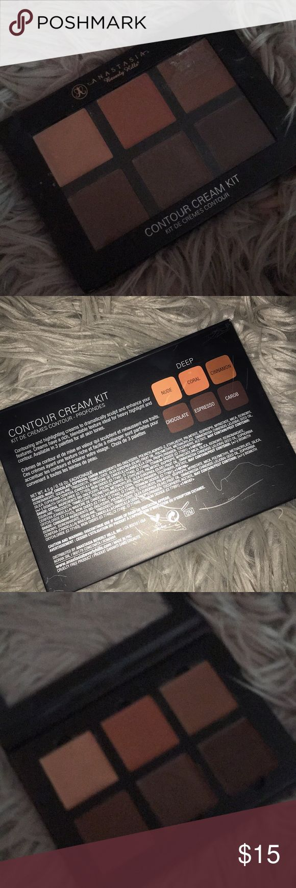 Anastasia cream contour kit Anastasia Beverly Hills contour cream kit in deep Anastasia Beverly Hills Makeup Foundation