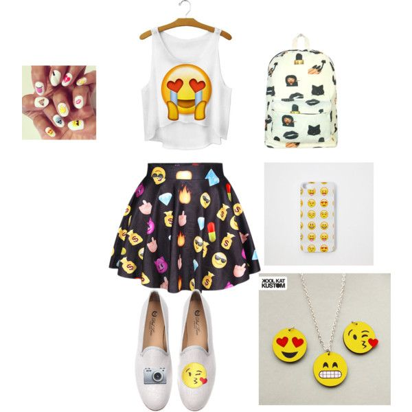 The 15 Best Emoji OUTFITS Yo Go To School In For Girls