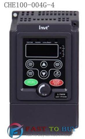 4KW  VFD  INVT CHE100-004G/5R5P- Sensorless Vector Control Inverter 3 Phase 380V-440V   New #Affiliate