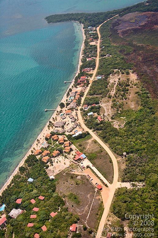 Hopkins Belize | Resort Strip of Hopkins Village, Belize, Belize Photographs and ...