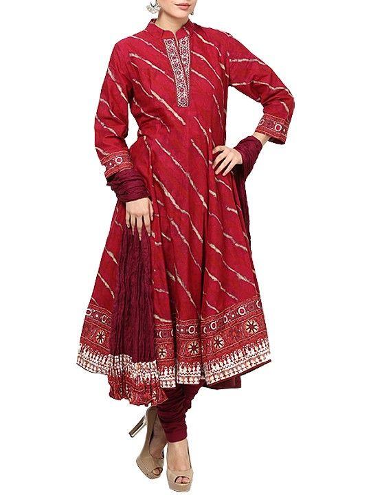 3/4 Sleeve Kalidar Salwar Set