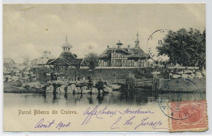 Craiova - Parcu Bibescu - 1904