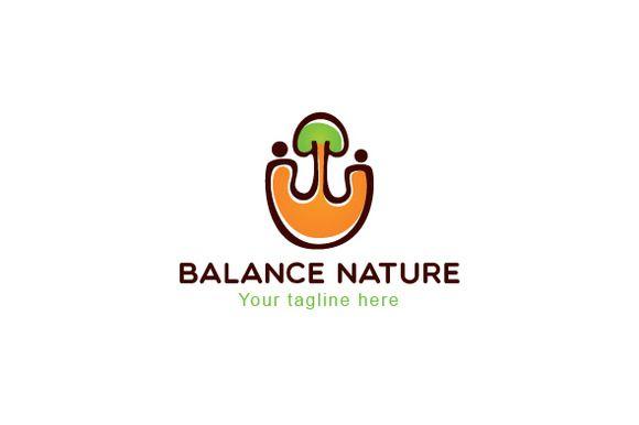 Balance Nature-Environment Friendly by VecRas on @creativemarket