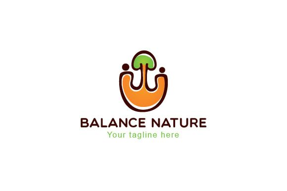 Balance Nature-Environment Friendly by VecRas on @creativemarket