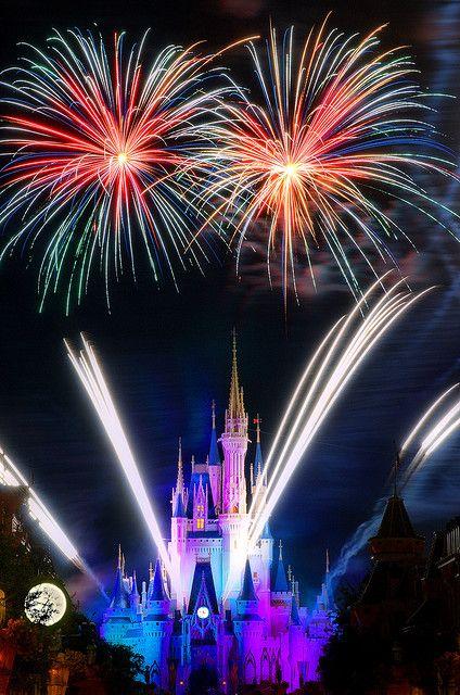 FIREWORKS~Daily Disney - Fireworks