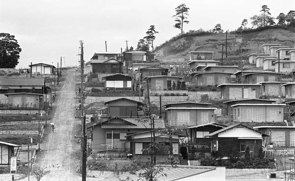 昭和39年、団地の造成(東京・多摩丘陵)(1964年06月01日) 【時事通信社】