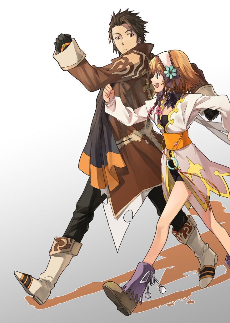 Tales of Xillia - Leia and Alvin :D